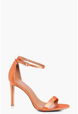 Anya Satin Two Part Sandal