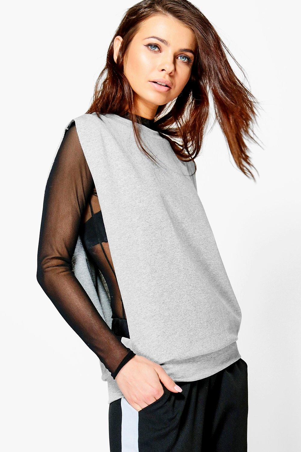 Hollie Oversized Split Side Sweater Vest