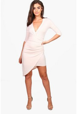 Katie Wrap Front Dress