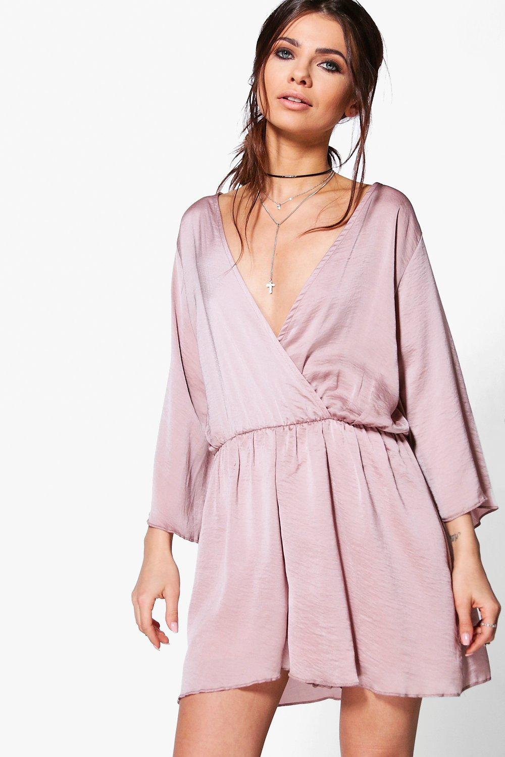 Maria Wrap Front Playsuit