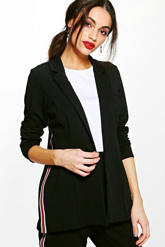 Julia Sports Stripe Blazer
