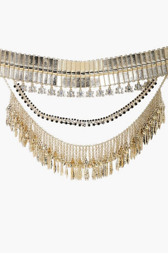 Holly Boutique Oversized Western Necklace