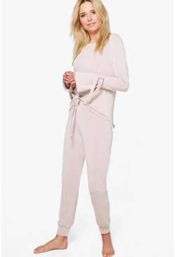 Harriet Tie Sleeve Jumper & Jogger Lounge Set