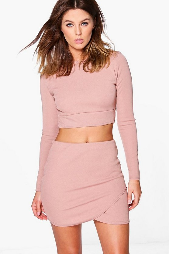 Lydia Bandage Crop & Mini Skirt Co-Ord Set