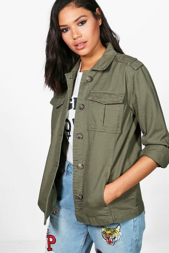 Aimee Short Utility Jacket