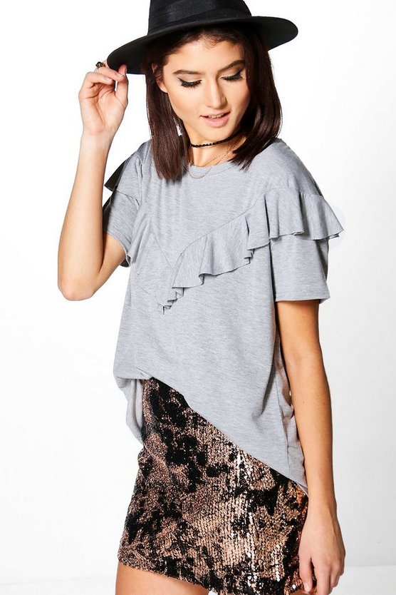Sophie Supersoft Ruffle T-Shirt