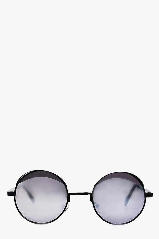 Layla Visor Frame Round fashion glasses
