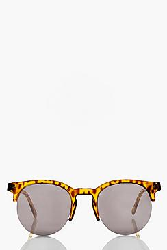 Holly Tortoise Frame Wayfarer Sunglasses
