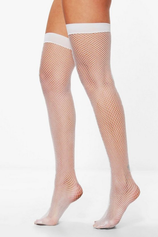 Lauren Fishnet Stockings