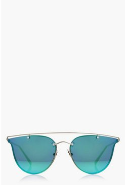 Heidi Brow Bar Cat Eye Sunglasses