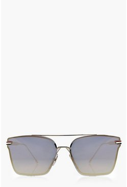 Lauren Ombre Lense Oversized Sunglasses