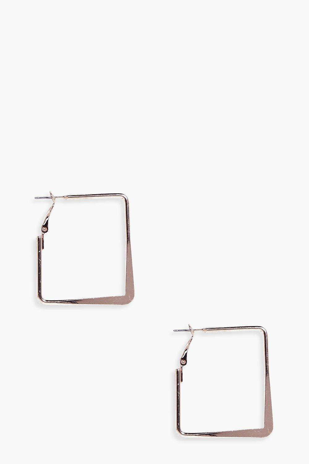 Melissa Square Hoop Earrings