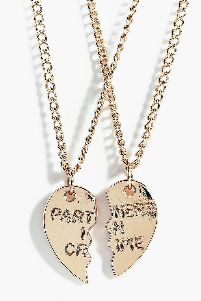 Anna Besties 2 Piece Friendship Necklace