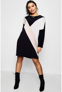 Ziggy Colour Block Shift Dress