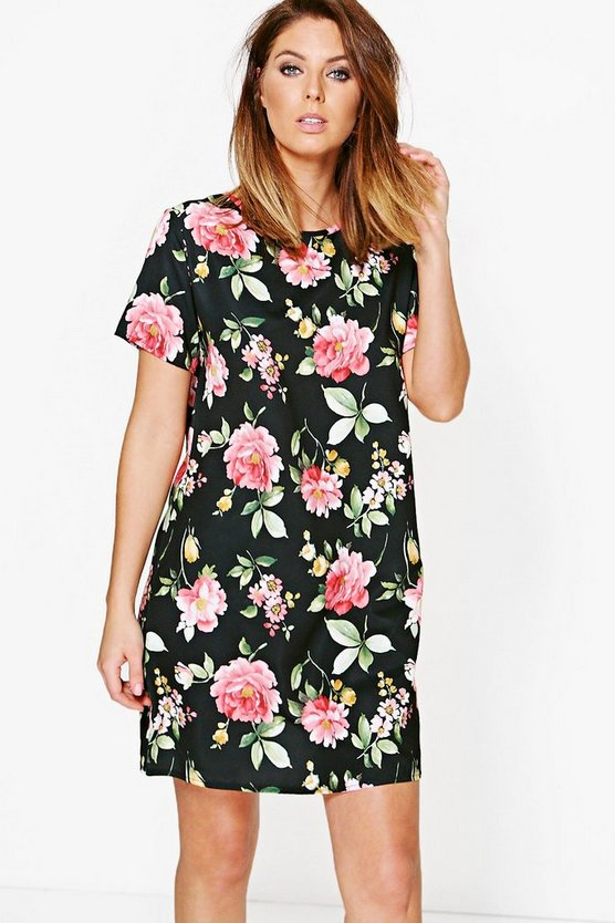 Zoey Floral Shift Dress