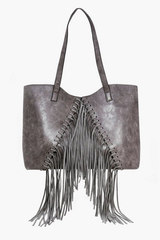 Willow Fringed Oversized Day Bag