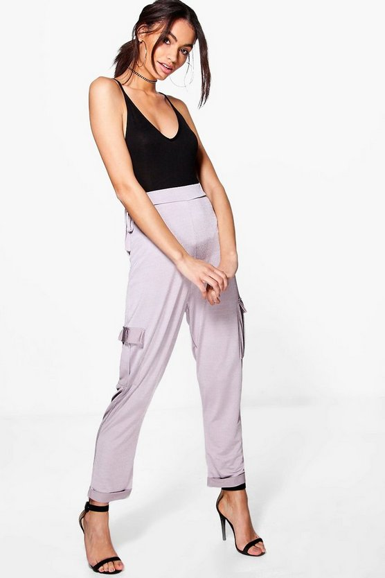 Ruby Pocket Side Relaxed Slinky Joggers