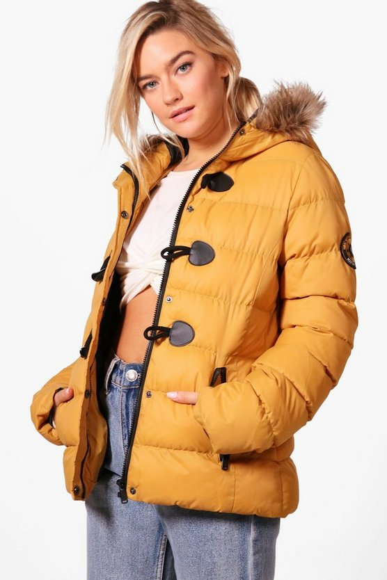 Bella Short Quilted Bubble Jacket