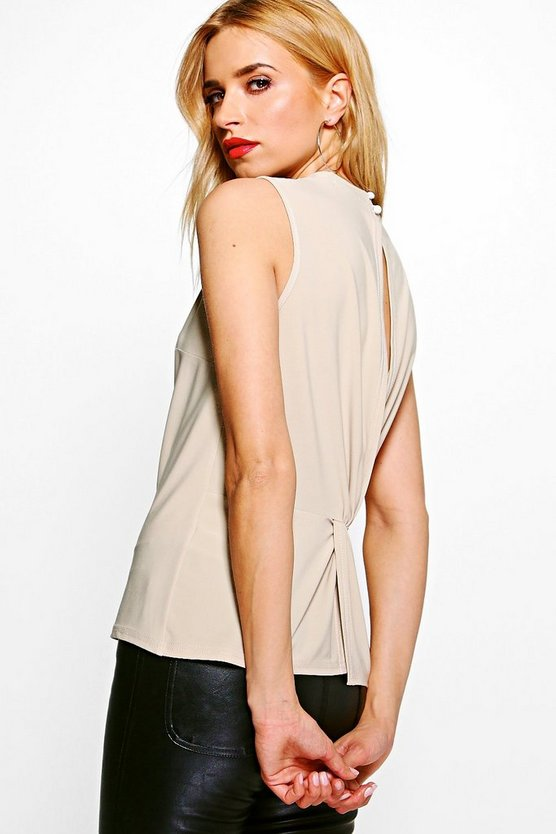 Adele Slinky Open Back Top