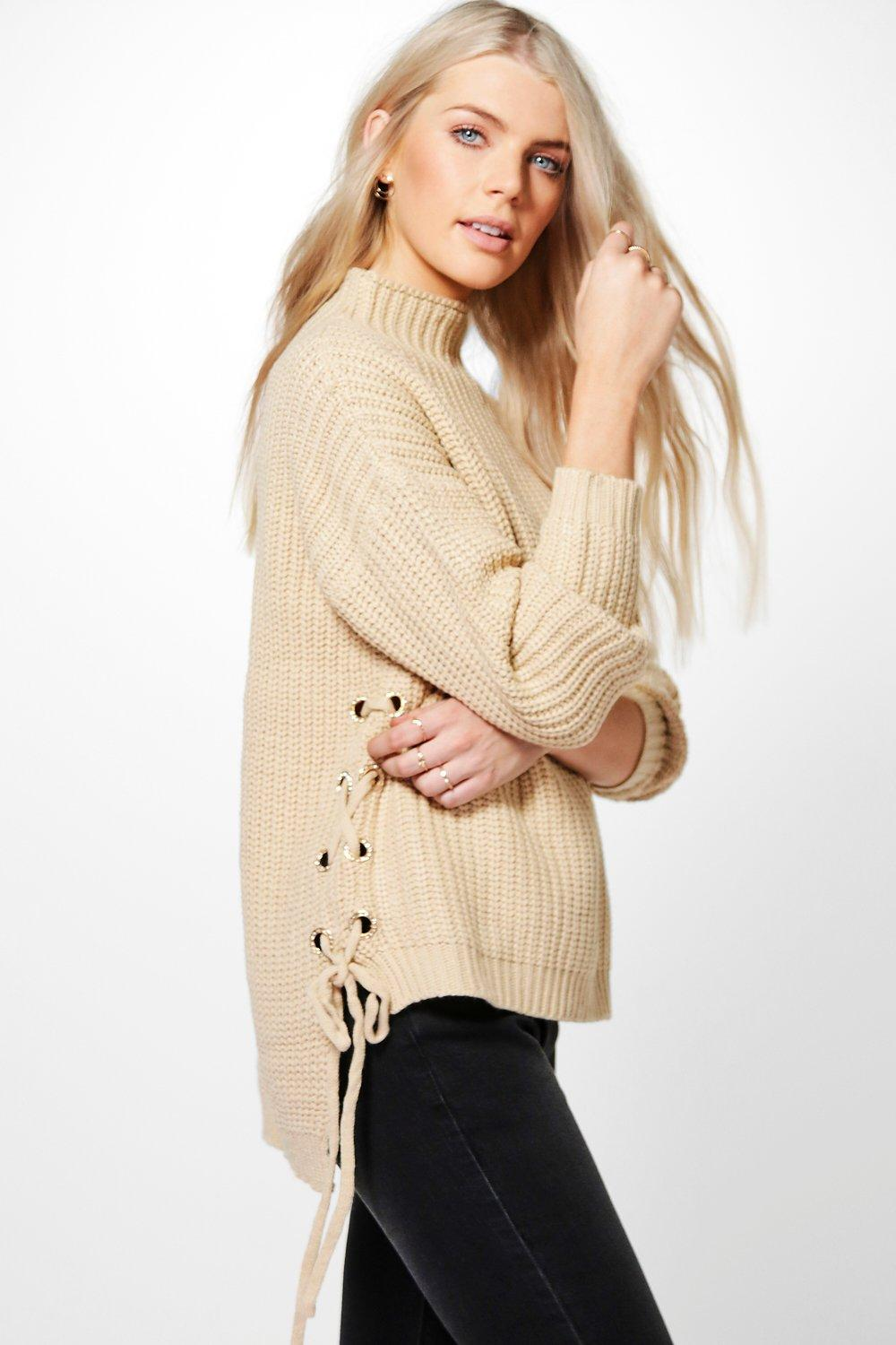 Savannah Fisherman Bling Eyelet Jumper