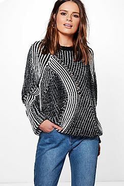 Darcy Twisted Stripe Jumper
