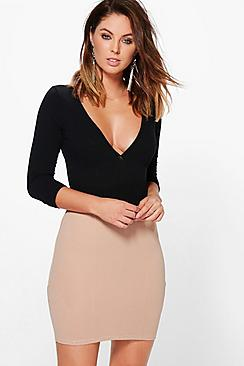 Honor Panelled Mini Skirt