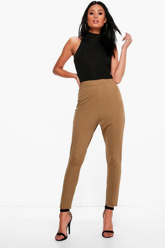Valencia Seam Front High Waist Crepe Leggings