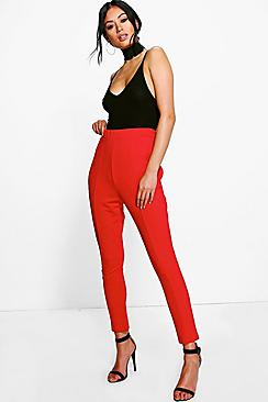 Siena Seam Front High Waist Crepe Leggings