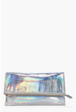 Anna Mermaid Fold Over Clutch Bag