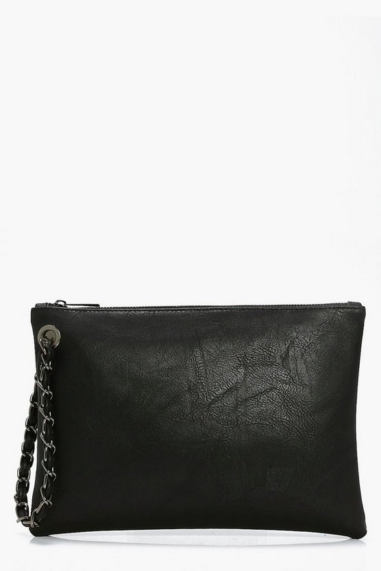 Lucie Chain Handstrap Clutch Bag