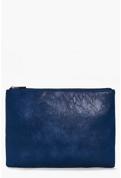 Neve Zip Top Clutch Bag