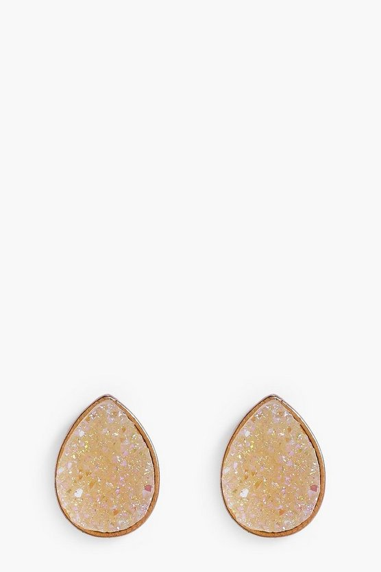 Beatrice Tear Drop Sparkle Bridal Earrings