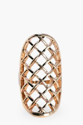 Laila Lattice Large Statement Ring