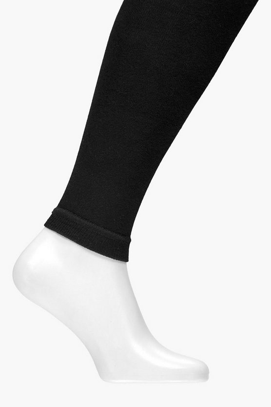 Arabella Knitted Opaque Footless Tights
