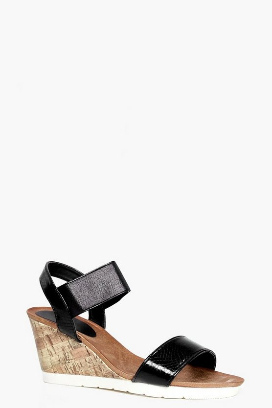 Charlotte Footbed Wedge