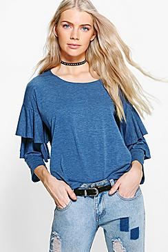 Georgia Ruffle Tiered T-Shirt