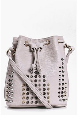 Leila Studded Duffle Bag