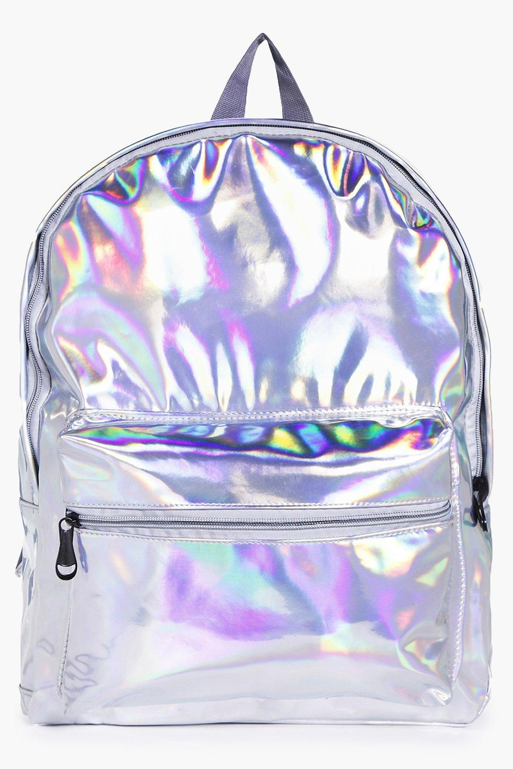 Holographic Rucksack - silver - Libby Holographic