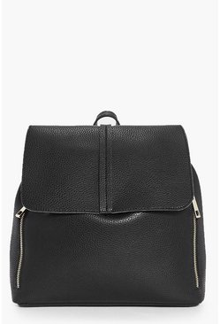 Robyn Double Zip Unlined Rucksack