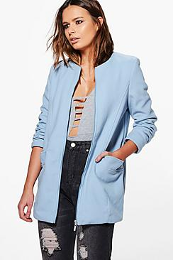 Imogen Oversized Wool Look Jacket