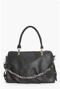 Niamh Chain Strap Detail Oversize Day Bag
