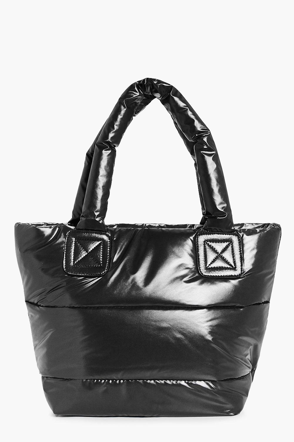 Padded Quilted Sports Holdall - black - Skye Padde