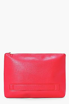 Mya Oversized Handstrap Clutch Bag