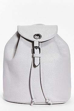 Sarah Metal Circle Detail Rucksack