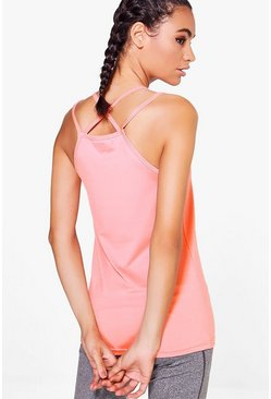 Charlotte Fit Strappy Yoga Vest