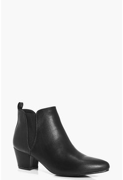 Tilly Low Block Heel Chelsea Boot