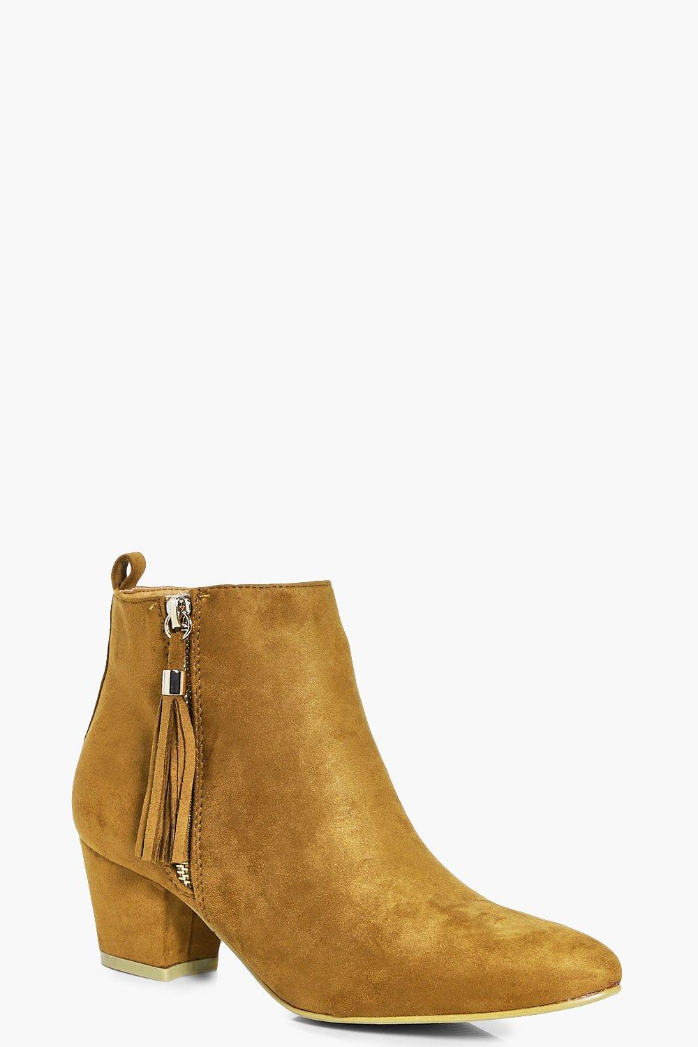 Eve Zip Side Ankle Boot