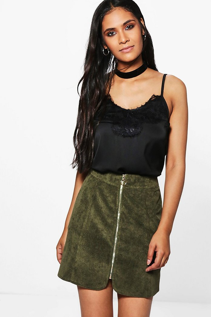 Lilli Ring Pull Cord Mini Skirt