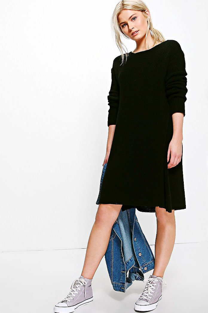 Maisie Knitted Swing Dress