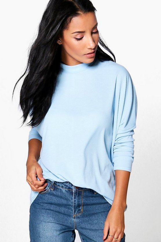 Lily Oversized Rib Knit Jumper